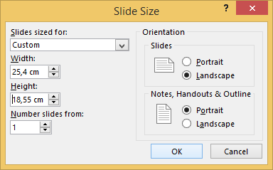 How to automatically create a ppt from full-screen images